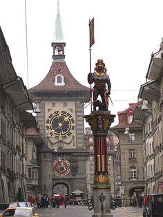 Berne, Switzerland.  http://www.worldheritagesite.org/sites/berne.html