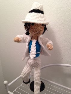 Pop Star Amigurumi by HandmadebyAdwoa on Etsy