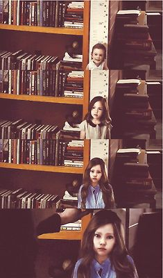 Renesmee was growing too fast. We all worried how long we would have with her. It just made every moment precious.