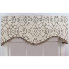 Trellis Rod Pocket Valance | Joss & Main