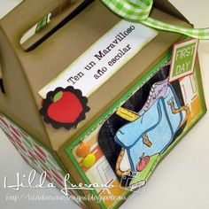 loncherita de papel digi School bag  de Digistamps4Joy Reto #18 LA&C