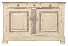 For the dining area...French Restoration Hand-Painted Buffet on OneKingsLane.com