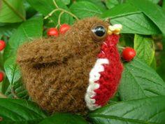 Crochet robin by Roman Sock, free pattern, thanks for sharing