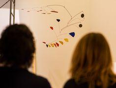 "Allestimento mostra ""Da Kandinsky a Pollock. La grande arte dei Guggenheim""  Alexander Calder, Mobile #KandinskyPollock"
