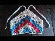 Crochet Shorts, Crochet Top, Crochet For Kids, Baby Dress, Crochet Projects, Free Pattern, Crochet Patterns, Textiles, Retro