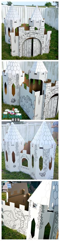Our PopUp Play castle! #popupplay