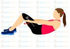 Skoncujte s pneumatikou kolem pasu hned teď! Nejefektivnější cviky! | Blog | Online Fitness