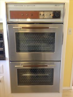 Yellow Kitchen Appliances Vintage Stoves