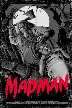 Madman Horror movie poster