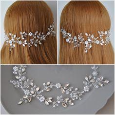 Crystal wedding hair piece Bridal hair accessories Wedding