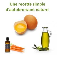 antobronzant naturel recette Bronzer, Diy Beauty, Home Remedies, Detox, Mango, Skin Care, Fruit, Health, How To Make
