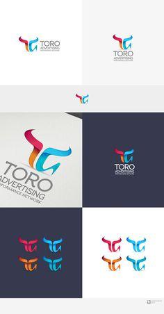 logo para TORO Advertising Logo design #164 by IvanHow