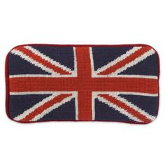 Gifts by Price - Red and Blue British Flag Sunglass Case Jonathan Adler, Mid Century Modern Furniture, Union Jack, Luxury Gifts, Luxury Handbags, Xmas Gifts, Modern Fashion, Icon Design, Red And Blue