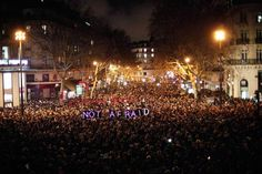 not afraid - paris