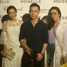 Supported by friends Elly Lam and Sabrina Ho Harris Chan celebrates Moiselle's 20th anniversary #fashion #moiselle  via HONG KONG TATLER MAGAZINE OFFICIAL INSTAGRAM - Celebrity  Fashion  Haute Couture  Advertising  Culture  Beauty  Editorial Photography  Magazine Covers  Supermodels  Runway Models