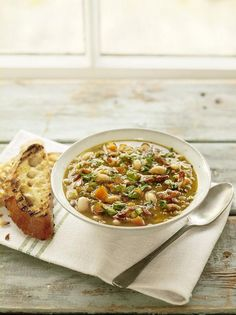 Lentil Soup | Pork Recipes | Jamie Oliver Recipes