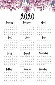 45 Best Printable Calendars 2020 (Both Free and Premium) – Calendar Template İdeas. Free Printable Calendar Templates, Printable Calendar 2020, Cute Calendar, Print Calendar, Yearly Calendar, Calendar Pages, 2021 Calendar, Printable Planner, Free Printables
