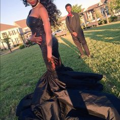 EXOTIC BLACK PROM DRESS -Stretchy fabric -a couple of sequins for the dazzle -worn once -very new!!!                                                                               ‼️‼️Willing  to take BEST OFFER‼️‼️.          BUNDLE WITH GOLD AUDREY BROOKE SHOES FOR 10% OFF Dresses