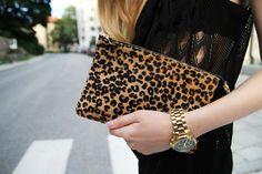 #lepard #clutch #bag