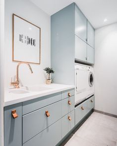 [New] The 72 Best Home Decor Ideas Today (with Pictures) Living Room - Blue laundry Inspired by mynordicroom Grey Laundry Rooms, Laundry Room Design, Nordic Interior Design, Interior Styling, Home Decor Styles, Home Decor Accessories, Scandi Home, Upstairs Bathrooms, Home Decor Kitchen
