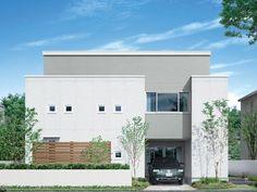 シンプル モダン 家 外観 - Google 検索 Style At Home, Three Floor, Multi Story Building, Flooring, Mansions, House Styles, Outdoor Decor, Google, Home Decor