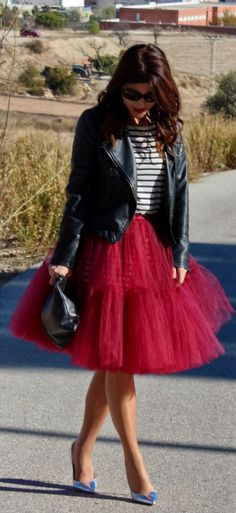 #Tutu #Skirt by Fashion Avenue By Adriana => Click to see what she wears