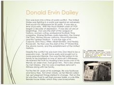 Dailey Family Tree - page 35 Donald Ervin Dailey Early life and marriage.