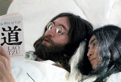 20aliens: John and Yoko learned as they went along, searching the wisdom of the centuries for guidance, 1969. By Gerry Deiter.