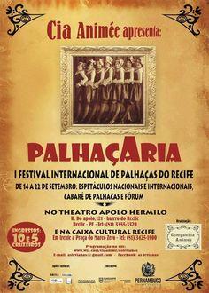 Próxima sexta começa o #Palhaçaria - I Festival Internacional de Palhaças do #Recife