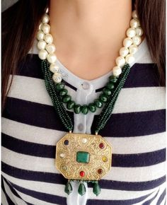 Abeera Necklace By indiatrendshop.com