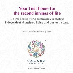 Your first home for the second innings of life  5 acres senior living community including independent & assisted living and dementia care.  www.varahadreamcity.com  #Community #Independent #Living #Dementia #Care #Innings #Life