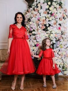 Seturi mama-fiica - Hira Design - Handmade Romania Bridesmaid Dresses, Wedding Dresses, Romania, Satin, Handmade, Design, Fashion, Tulle, Embroidery