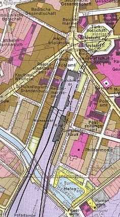 Bahnhof Berlin Potsdamer Platz 1910