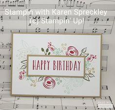 Stampin Up Perennial Birthday