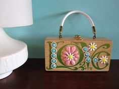 Vintage Enid Collins Love box bag.