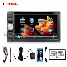 20 Best 2 Din 6 2 inch Car DVD Player Windows CE 6 0 OS with
