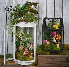 Turn any space into a magical fairy tale with these Spring Fairy Garden Lanterns! Stop by your local Pat Catan's today to get everything you'll need to make them!