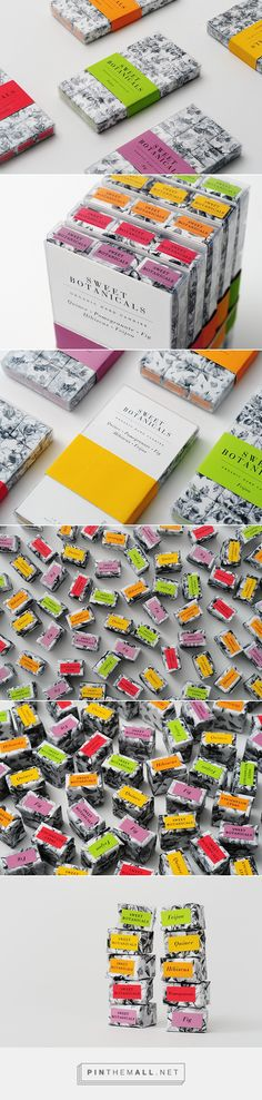 Sweet Botanical Brand Candy Packaging by Miguel Yatco   Fivestar Branding Agency – Design and Branding Agency & Curated Inspiration Gallery