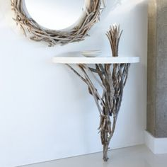 Nice Eco-Friendly Furniture Home Made Of Rough Wood