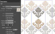Pattern Creation in Illustrator CS6 • IceflowStudios Design Training