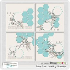Help with Hexagons—use these templates as inspiration for cards!