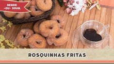 Rosquinhas Fritas - Receitas de Minuto #150