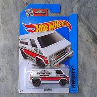 Hotwheels Supervan Putih Murah