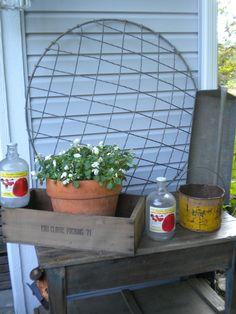 backyard desk