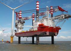 Seajacks Zaratan Offshore Installation Jack-Up Vessel at Gunfleet Sands Offshore Wind Farm (Courtesy Seajacks).