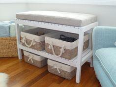 Vintage Ecru sofá mesa con un decorativo piernas Atmosphera créateur d /'intérieur