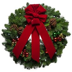 Jingle Bell Christmas Wreath. This wreath and many more found at http://www.christmasforest.com/wreaths. Fundraising information visit http://www.christmasforest.com/fundraising Needing ornaments? Visit www.ornaments.com.