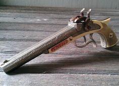 Cap Gun Vintage Hubley Child's Toy  Pirate Cap by @LisasRetroStyle #vmteam