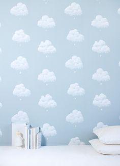 TO DECORATE (wallpaper Nuages de Coton / Bartsch)