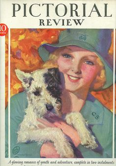 Sept 1929 Pictorial Review Girl Scout Cover  | Flickr - Photo Sharing!